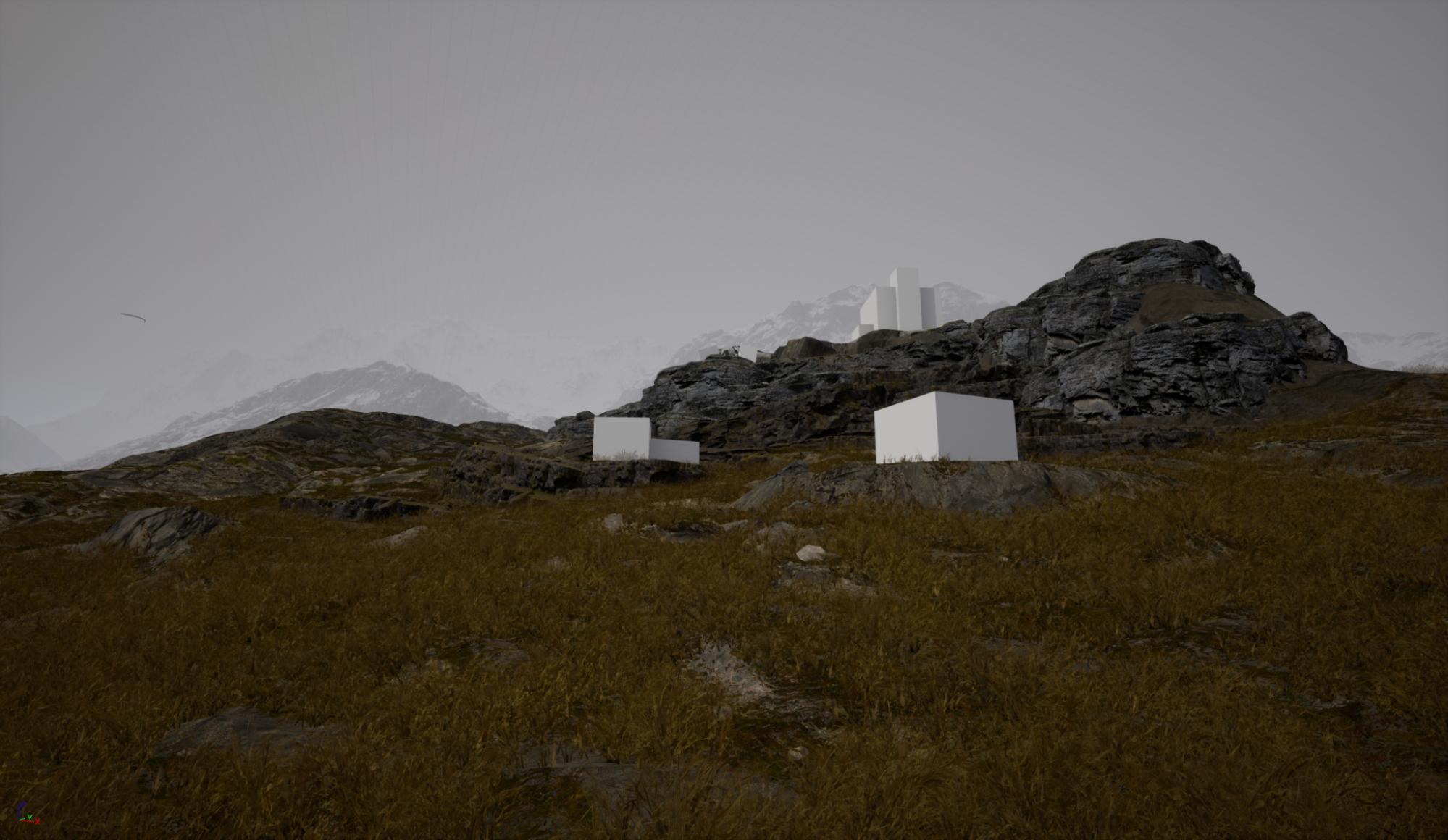 Создание камней и скал из базовых форм