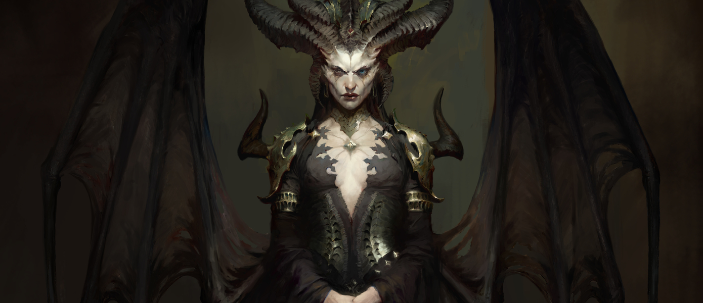 Демон Лилит из Diablo 4