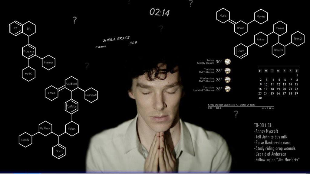Кадр из сериала «Шерлок Холмс»