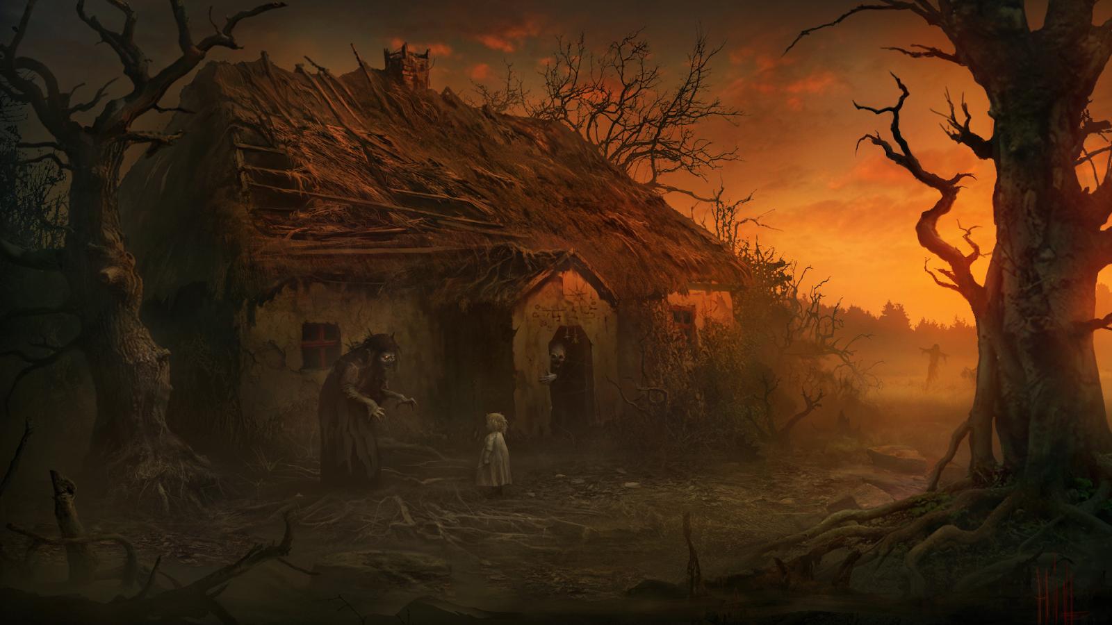 Картина «Witch ver.2»