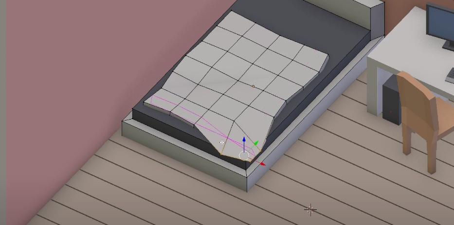 Модифицирование текстуры одеяла