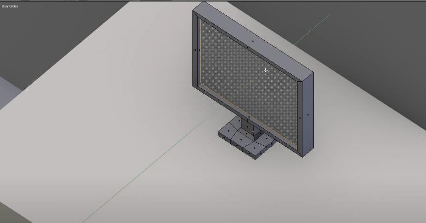 Моделирование монитора
