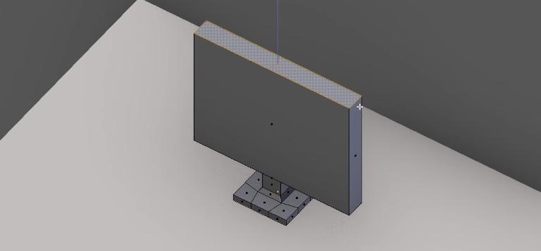 Создаем экранную плоскость