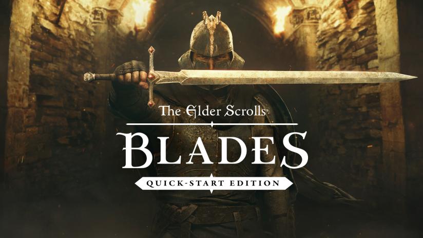 Промо арт The Elder Scrolls BLADES