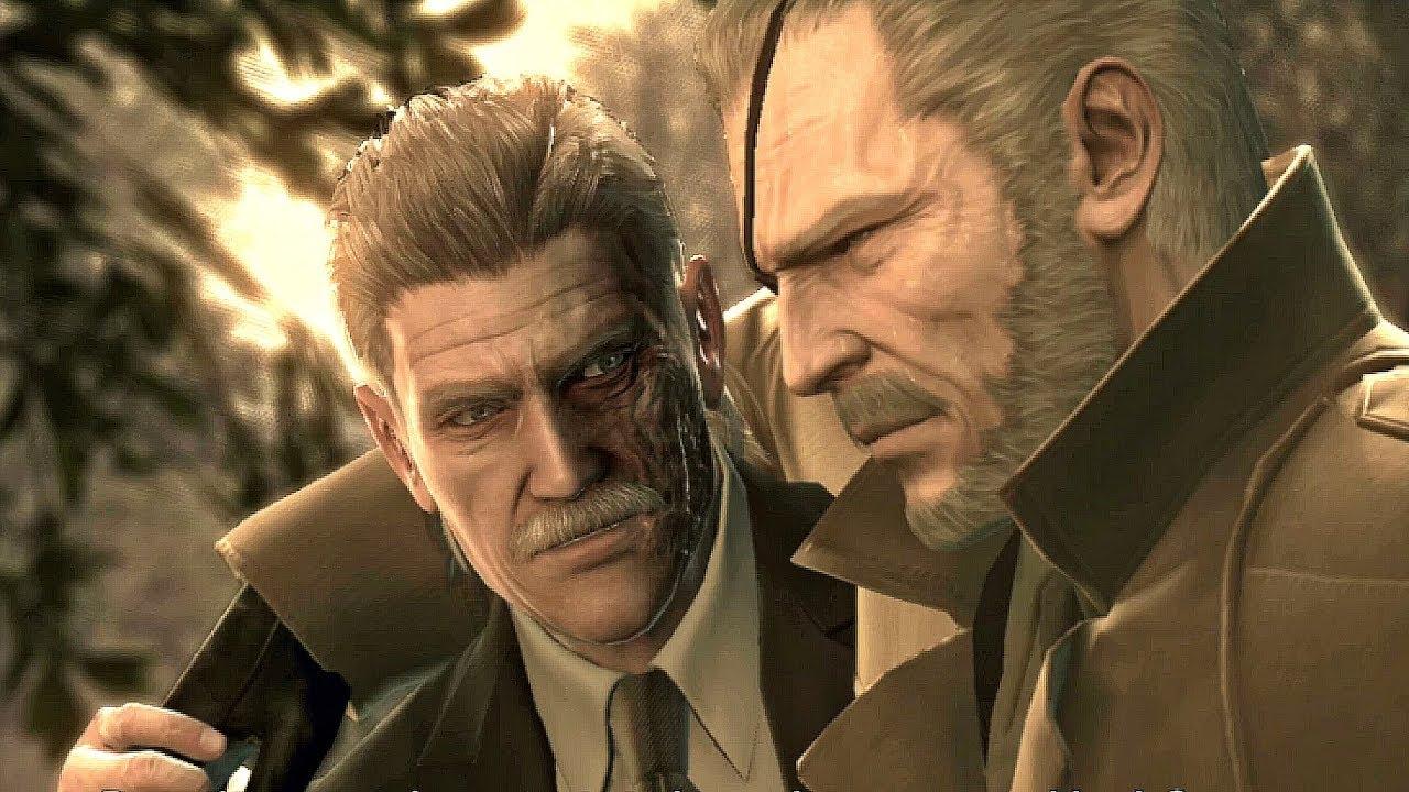 Кадр из игры «Metal Gear Solid 4: Guns of the Patriots»