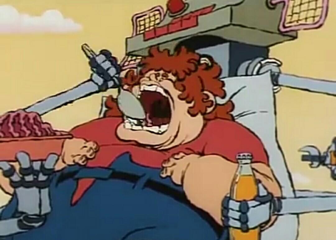 Кадр из советского мультфильма «Нехочуха»
