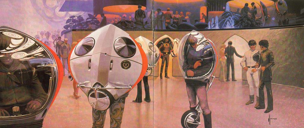 Концепт (1969) Uni Pod — личного транспортного средства будущего