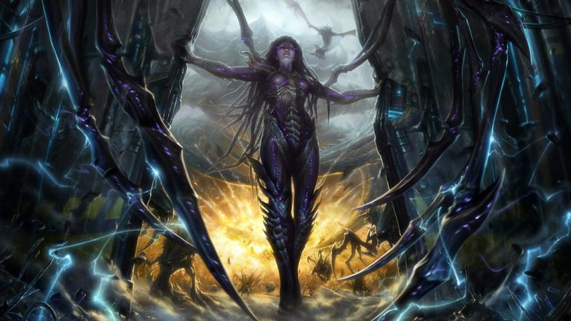 Керриган из «StarCraft 2: Wings of Liberty»