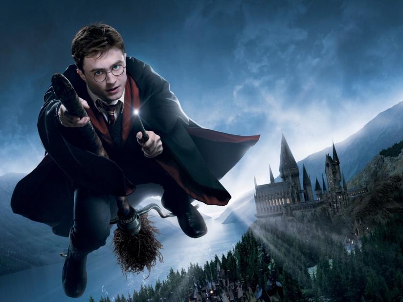 Гарри Поттер из одноименной серии книг и фильмов