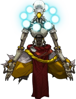 Персонаж из игры «Overwatch»