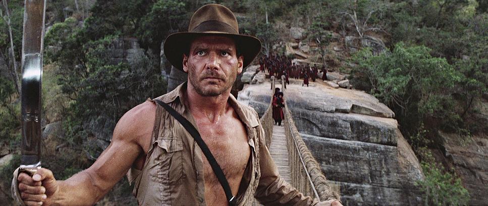 Кадр из фильма «Индиана Джонс и храм судьбы», 1984-й год