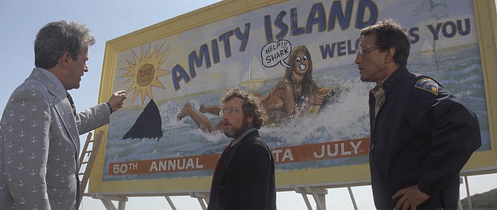 Кадр из фильма «Челюсти» 1975-й год