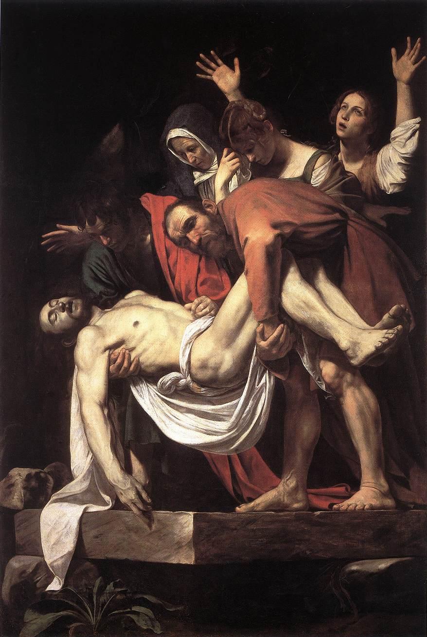 Микеланджело да Караваджо, «Погребения Христа» (1602-1604). Источник: muzei-mira.com