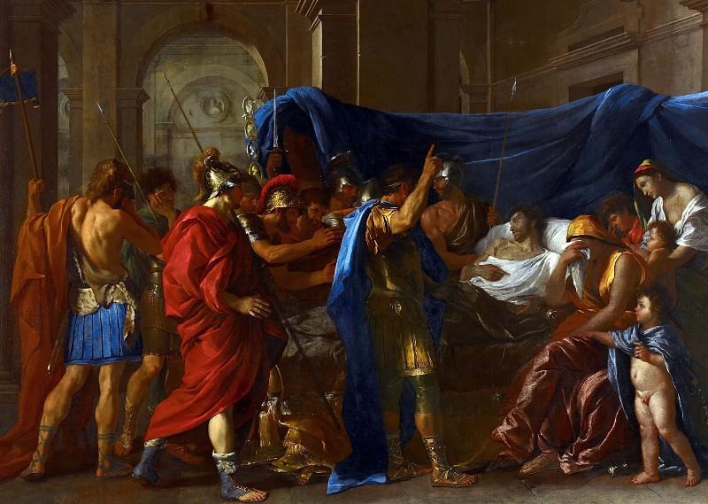 Никола Пуссен, «Смерть Германика» (1627). Источник: gallerix.ru