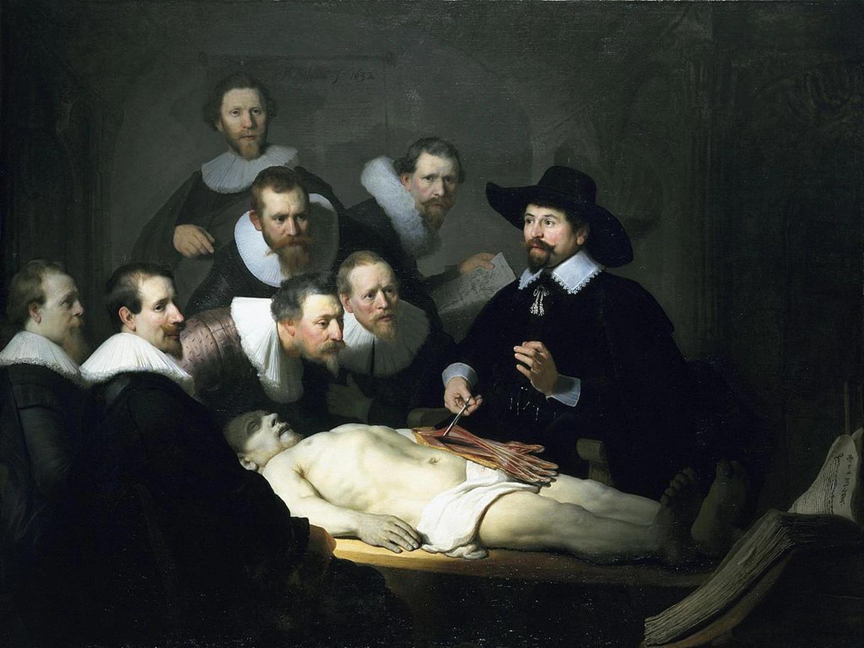 Рембрандт ван Рейн, «Урок анатомии Доктора Тульпа» (1632). Источник: theculturetrip.com