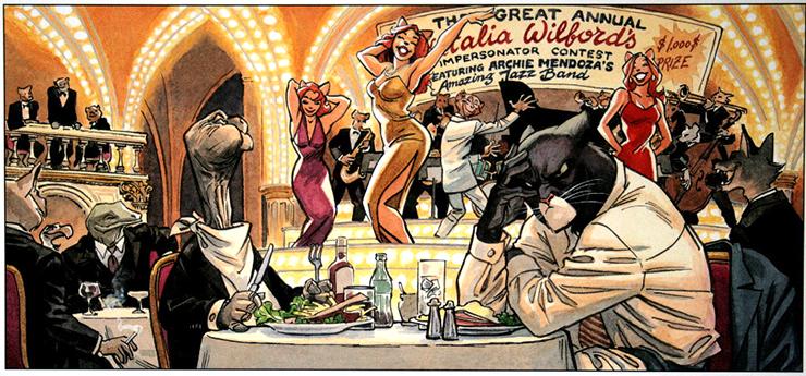 Европейский комикс о коте-детективе Blacksad. Источник: kanobu.ru