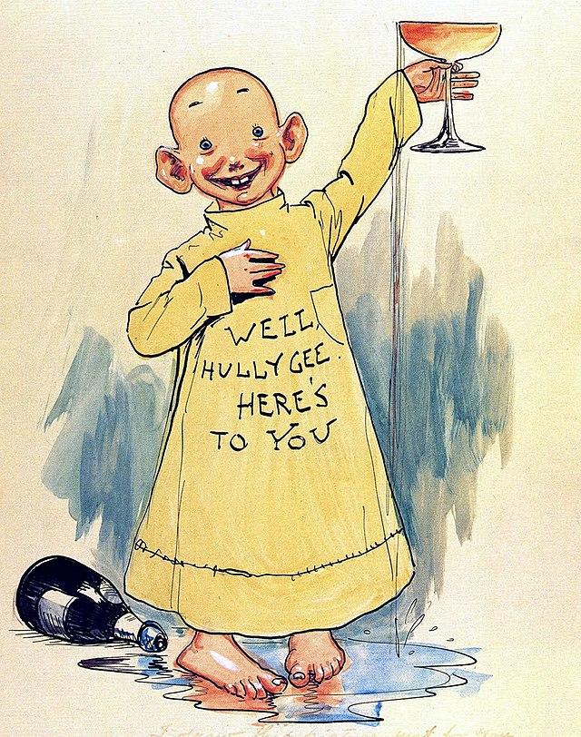 Изображение желтого малыша. Источник: сайт wikiwand.com