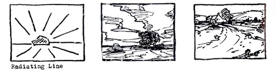 Вид композиции «Лучи». Источник: muddycolors