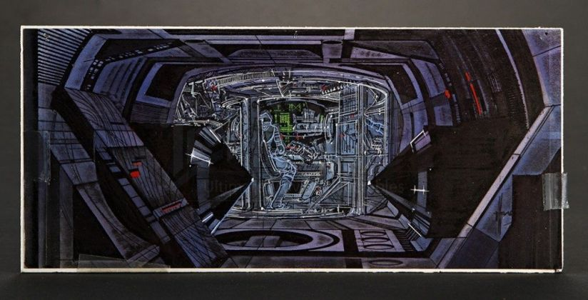 Концепты к фильму «Трон». Источник: vk.com