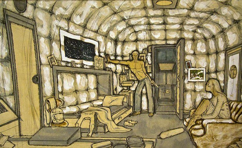 Концепты к фильму «Солярис». Источник: vk.com