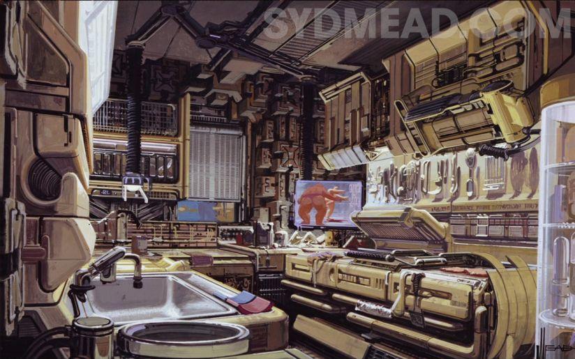 Концепты Сида Мида. Источник: sydmead.com
