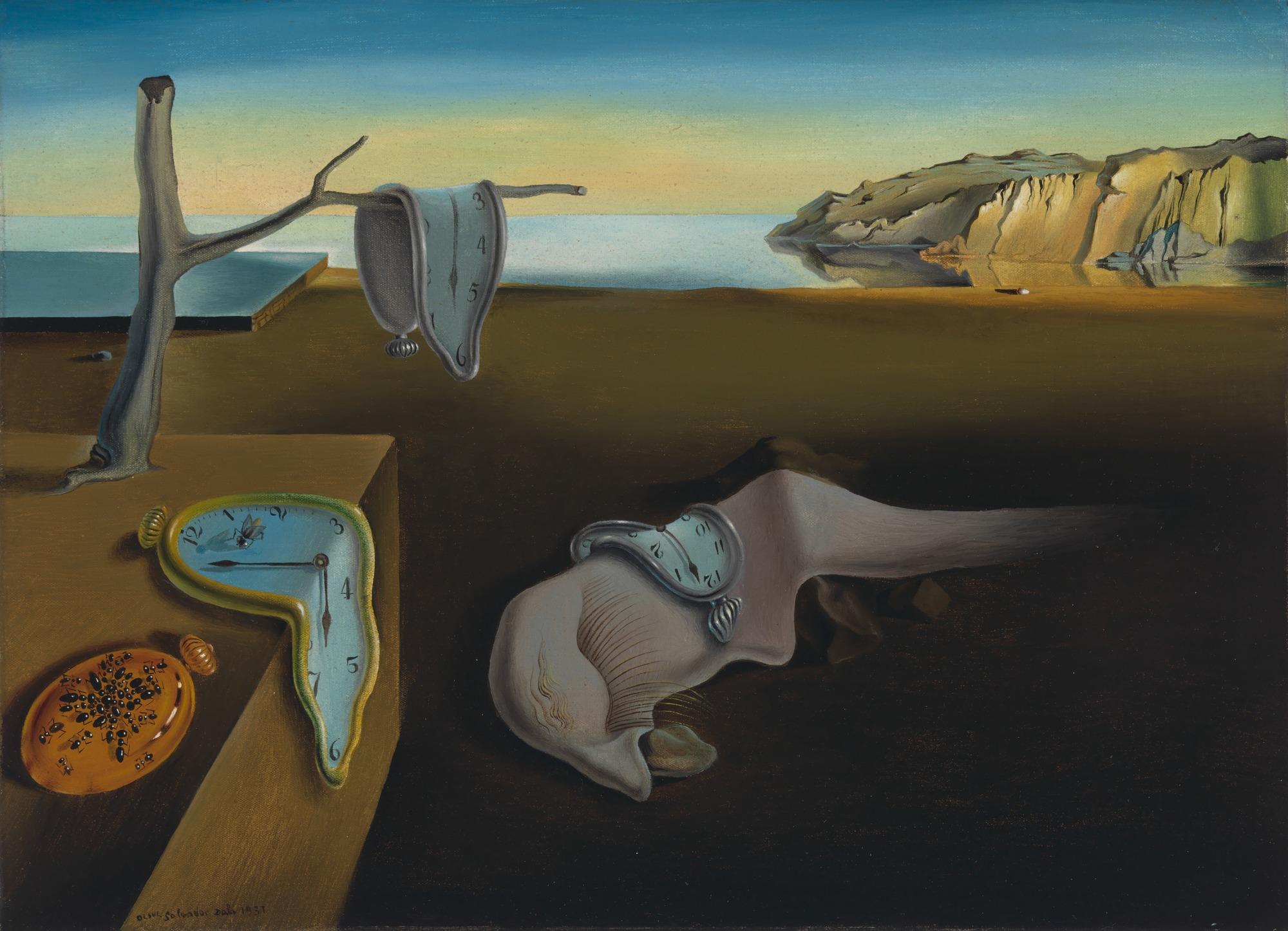 Сальвадор Дали. Постоянство памяти. 1931 г. Нью-Йоркский музей современного искусства, Нью-Йорк