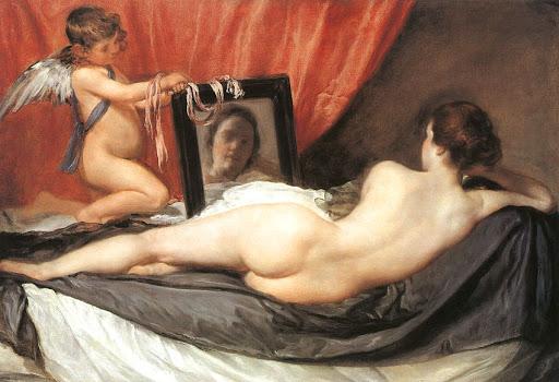 Диего Веласкес. Венера перед зеркалом. 1647–1651 гг. Национальная галерея, Лондон