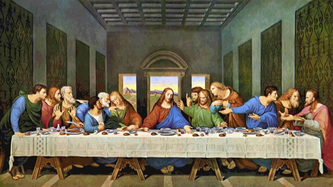 На картине Леонардо Да Винчи «Тайная вечеря» отчетливо вырисовываются границы сцены. Мы остаемся немыми зрителями и слушателями религиозной истории.  Даже если в работах ты не углубляешься в религию, это правило все равно остается.
