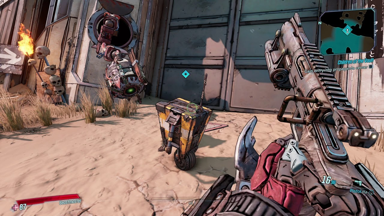 Кадр из игры «Borderlands 3»