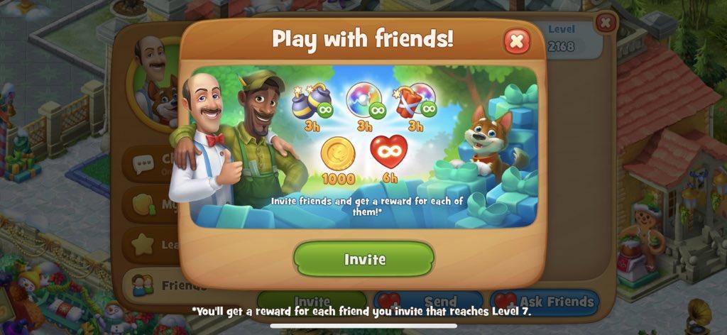 Скриншот из игры Gardenscapes. Источник: twitter