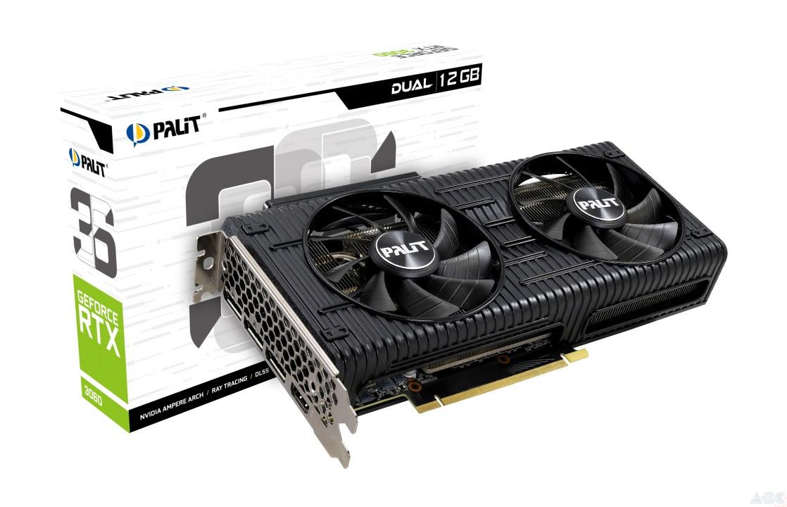 Palit GeForce RTX 3060 12Gb. Источник: palit.com