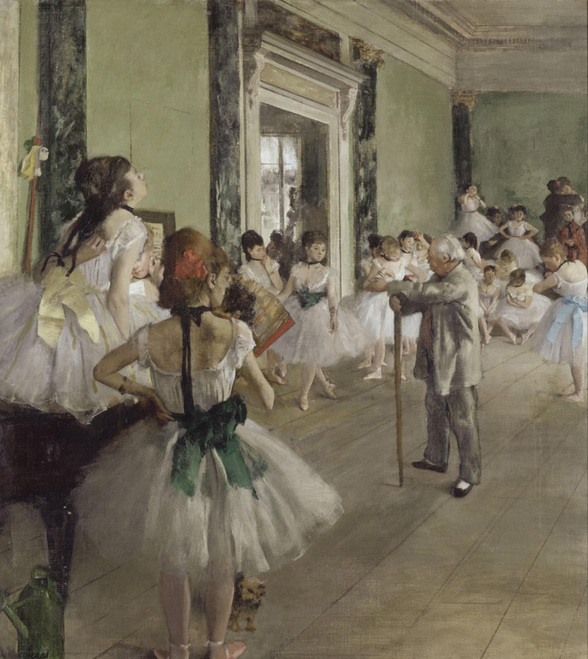 Эдгар Дега «Танцевальный класс», 1874. Источник: www.wikiart.org