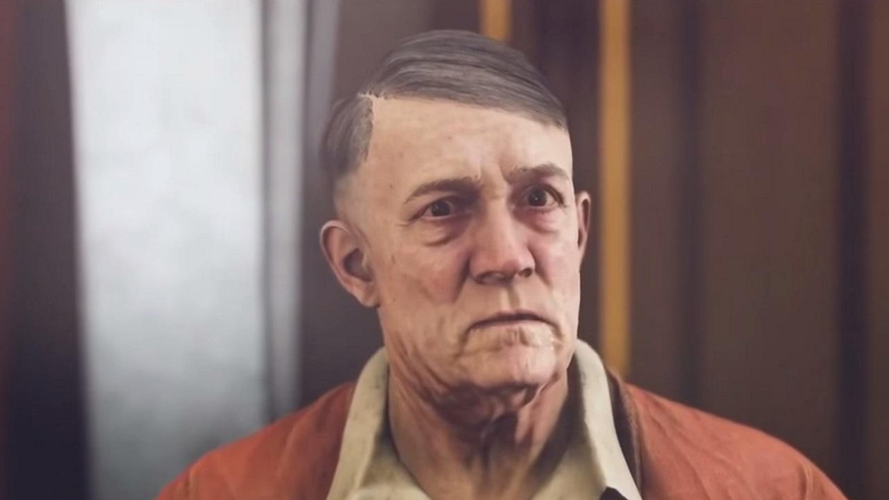 Кадр из Wolfenstein 2. Источник: jewishnews.com.ua