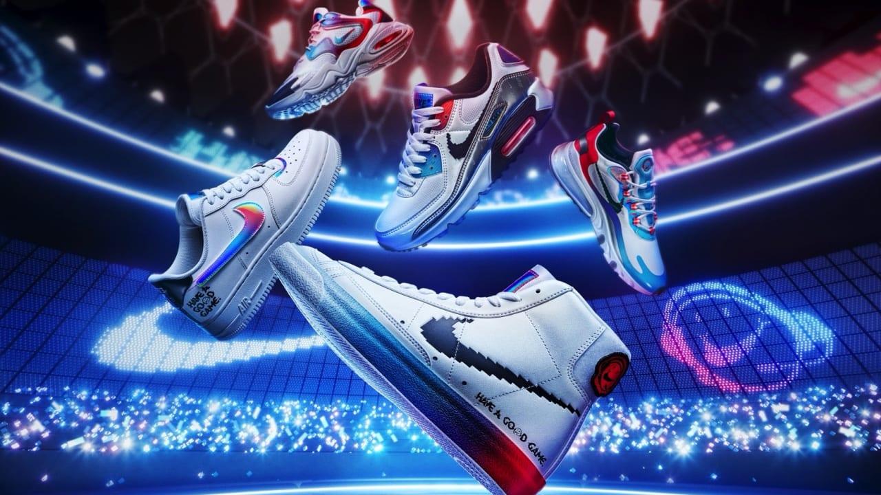 Брендированная обувь Nike для чемпионата по League of Legends