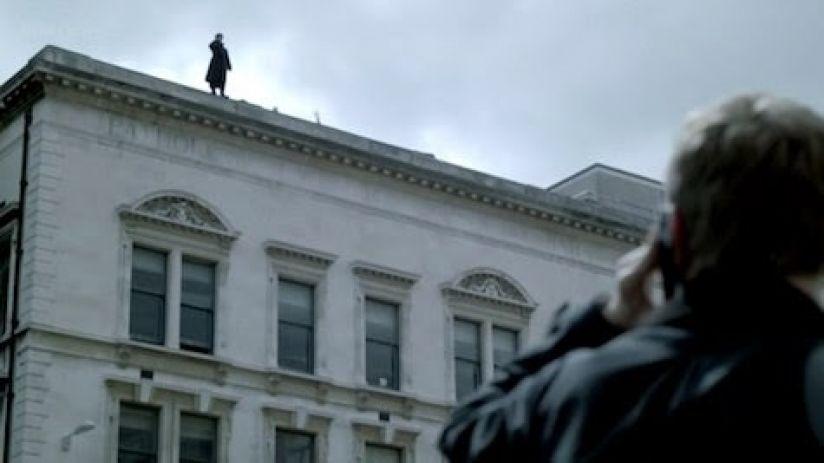 Кадр из сериала «Шерлох Холмс».