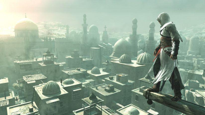 Сцены из серии игр Assassin's Creed